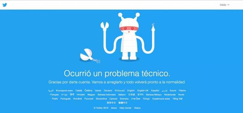 Cae Twitter en varios países