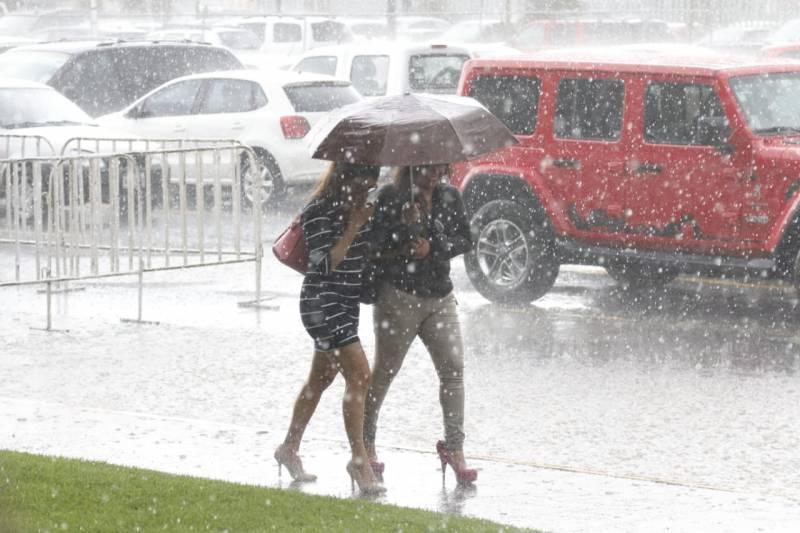 Prevén lluvias intensas en las siguientes horas