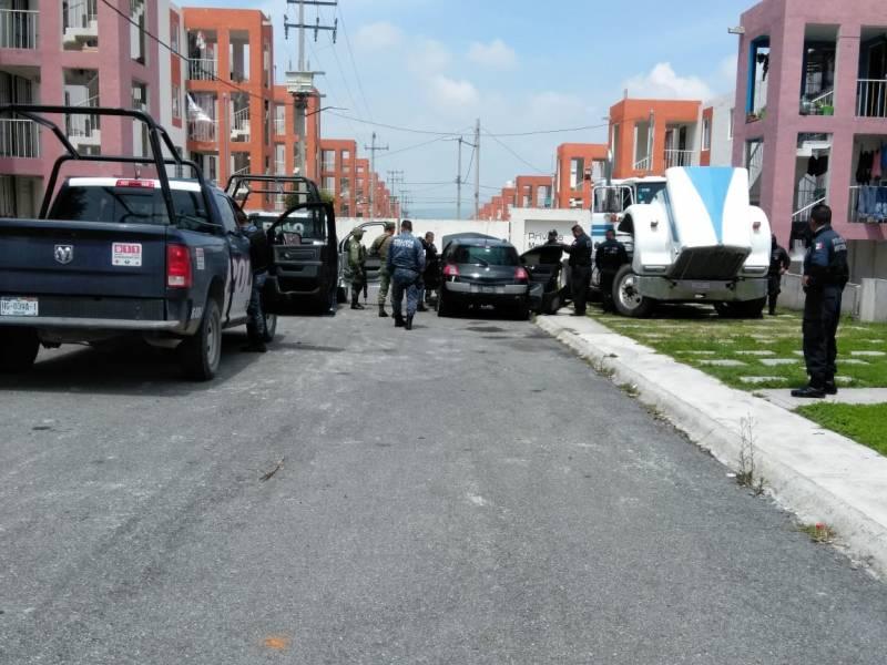 Operativo contra delincuencia en Atotonilco de Tula; 4 detenidos