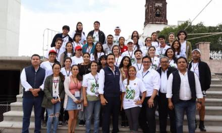 Estudiantes de Programa Cultural y Voluntariado, testigos de la proximidad ciudadana del gobierno estatal