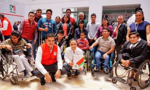 Prevenir y erradicar discriminación de personas discapacitadas, es prioridad: Érika Rodríguez