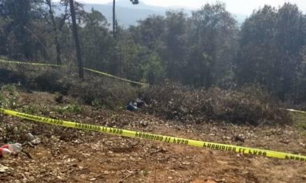 Encuentran cadáver de un hombre en Cuautepec, tenía impactos de arma de fuego