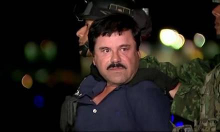 Dictan cadena perpetua a Joaquín El Chapo Guzmán