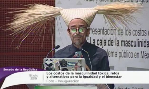 Inaugura Rubén Albarrán foro sobre masculinidad tóxica en el Senado