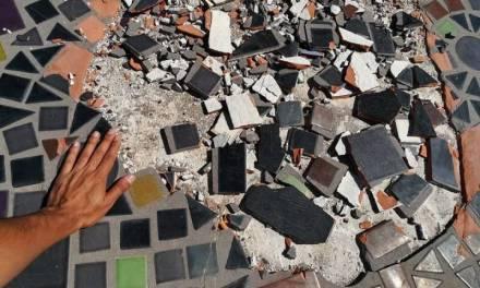 Restauración de losa pictórica de Byron Gálvez costará 1.6 mdp