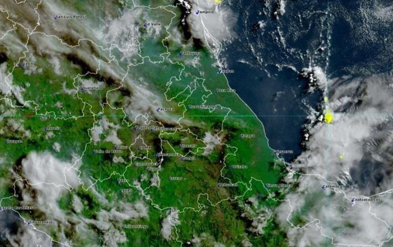 Incrementa potencial para el desarrollo de lluvias vespertinas