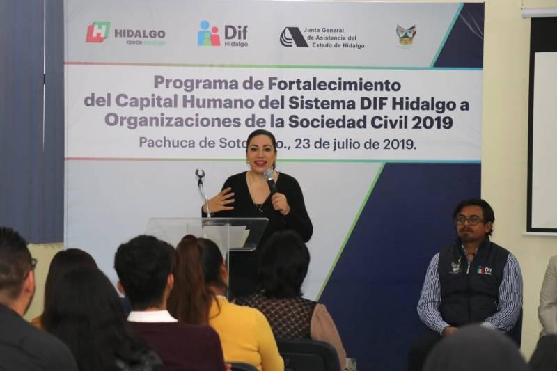 Más de 60 Organizaciones de la Sociedad Civil serán capacitadas a través del Programa de Fortalecimiento del capital humano