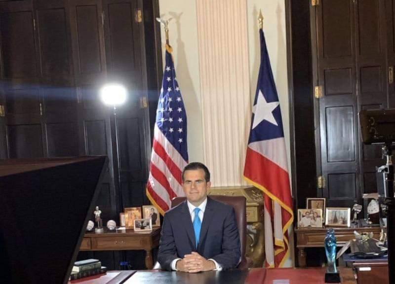 Tras protestas gobernador de Puerto Rico anuncia renuncia para 2 de agosto