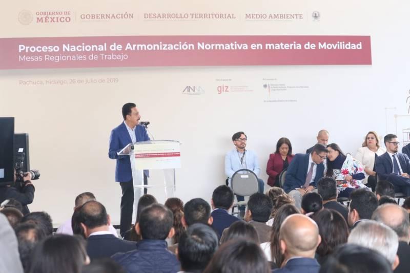 Inicia en Hidalgo proceso nacional para reformar Ley de Movilidad