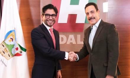 Nombra Fayad a José Luis Romo, secretario de la Política Pública