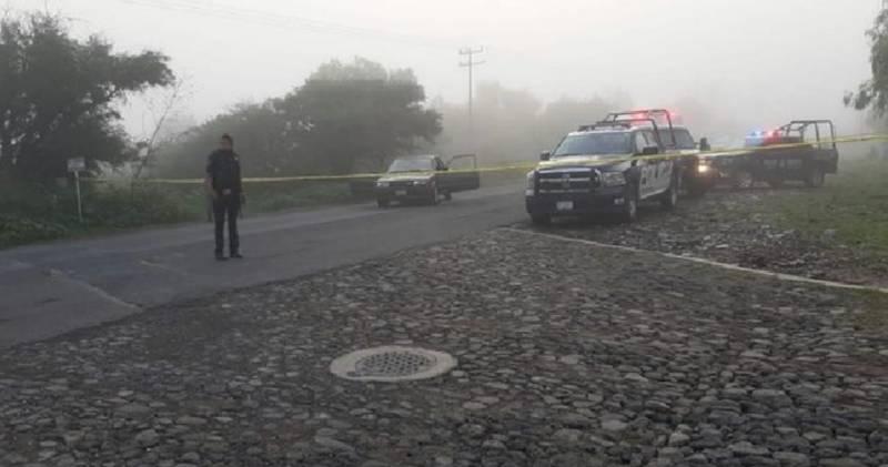 Mueren dos personas tras ataque armado en Huichapan