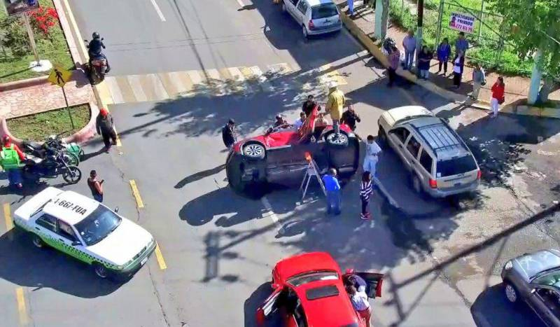 Diputada Corina Martínez sufre accidente