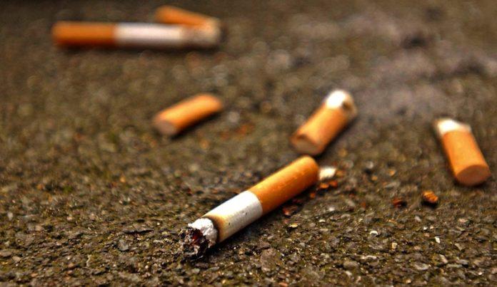 Colillas de cigarro un problema de salud y educación cívica