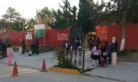 Policía Municipal de Tolcayuca resguarda planteles escolares por vacaciones