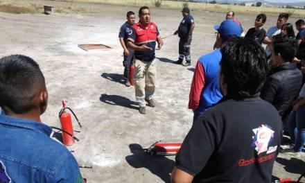 Personal de PC Tolcayuca se capacita