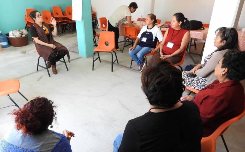 Promueven taller de género en Tolcayuca