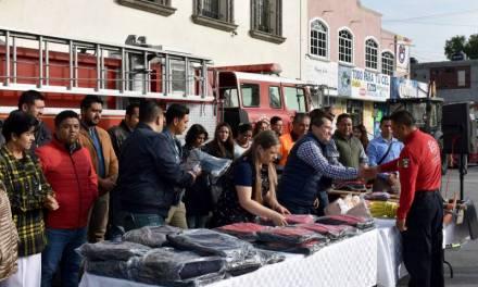 Conmemoran el Día del Bombero en Zapotlán de Juárez