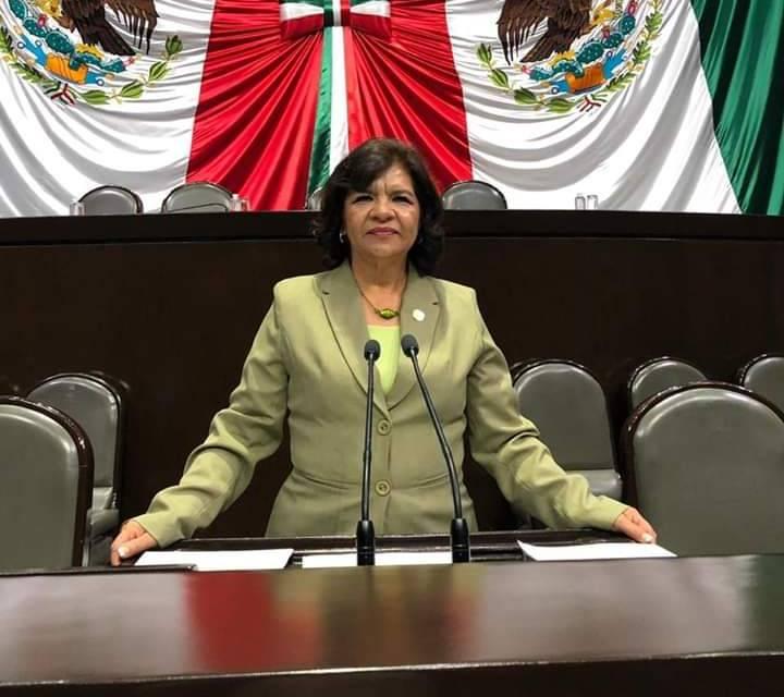 Lidia García Anaya rinde informe de actividades