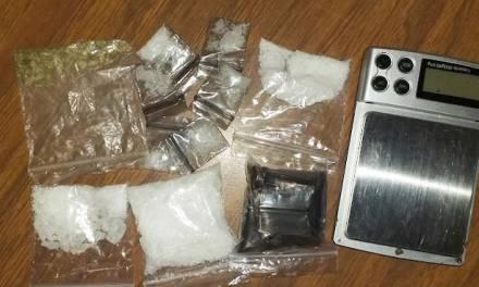 Asegura SSPH a probables distribuidores de droga en Pachuca