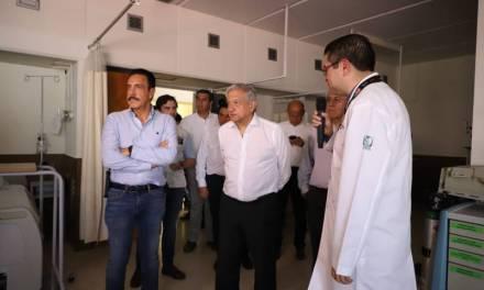 En Hidalgo nos llevamos bien con el gobernador: AMLO