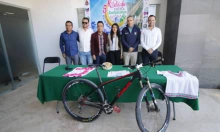 Promueven riquezas naturales de la Vega de Metztitlán con rodada ciclista