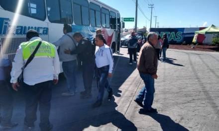 Asaltan autobús de pasajeros en Tizayuca