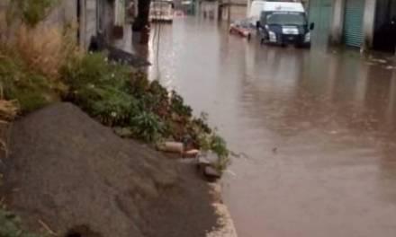 Lluvias del fin de semana dejaron 250 damnificados y 50 viviendas dañadas en Pachuca