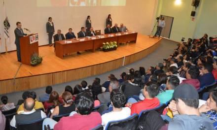 Inauguran Cátedra INEGI en la UAEH