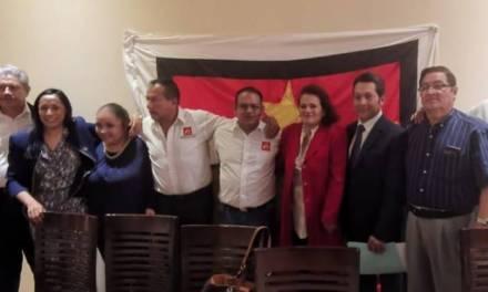 En horario laboral Flor Ibarra participa en conferencia del PT