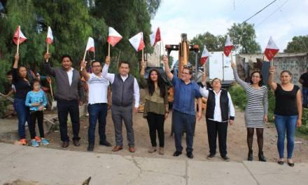 Inician nuevas obras de agua potable en Villa de Tezontepec