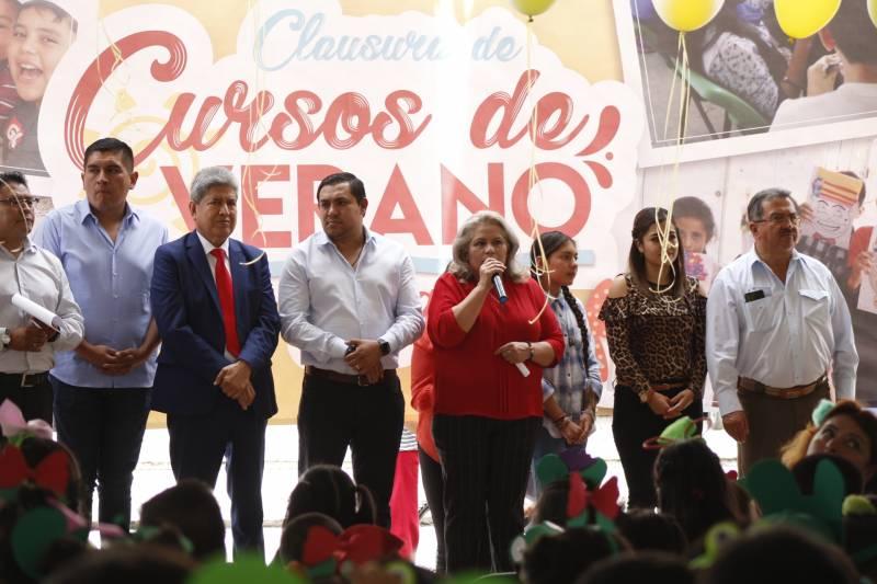 450 Niñas y Niños participaron en el Curso de Verano Tizayuca 2019