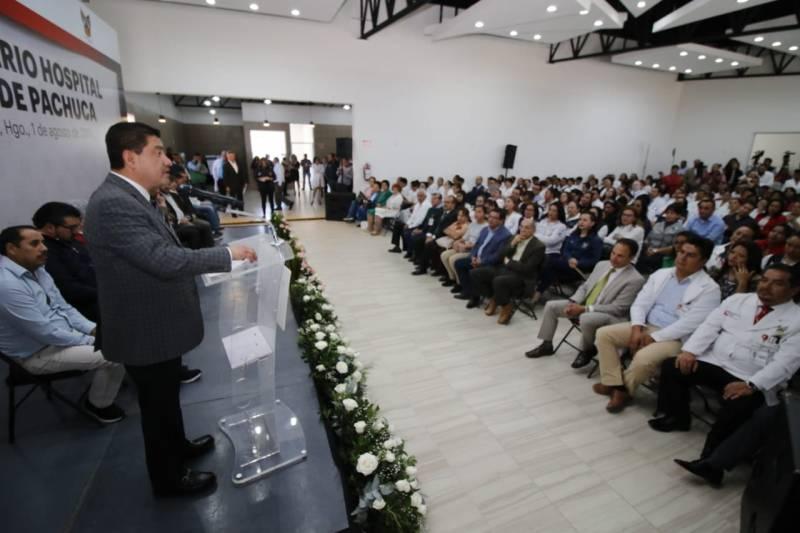 Restablecerán plazas y becas para médicos pasantes en Hidalgo