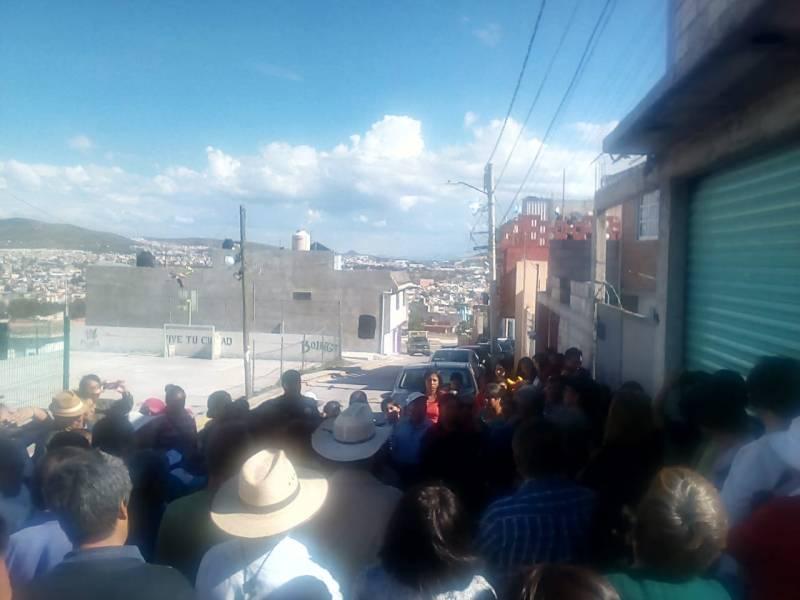 Vecinos de diferentes colonias de Pachuca piden mayor seguridad