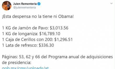 Supuesta «despensa fifí» de López Obrador corresponde a proceso de licitación