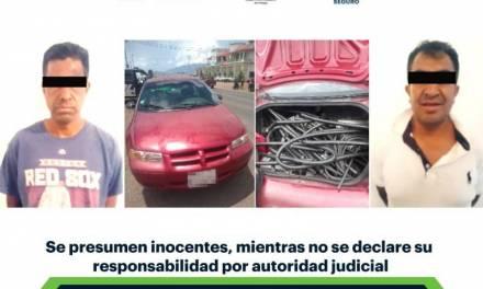 Asegura SSPH predios de desmantelamiento de vehículos y recupera tractocamiones robados
