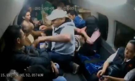 Graban nuevo asalto al transporte público en el Estado de México