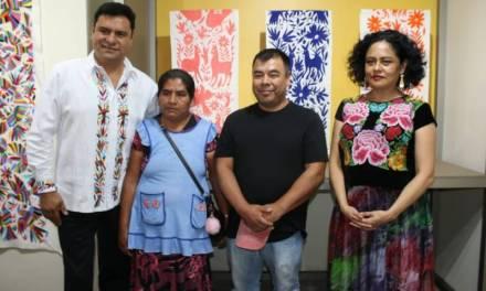 Artesanos de Tenango de Doria exponen en la Ciudad de México