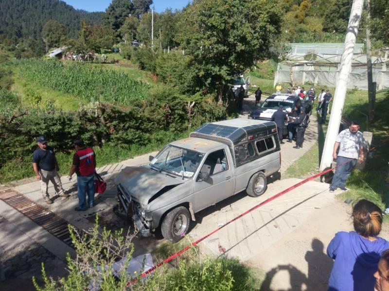 Muere una persona tras accidente en Mineral del Chico