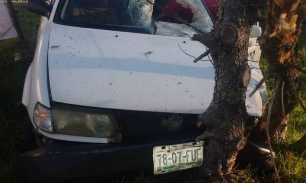 Muere persona tras sufrir accidente en la Pachuca-Huasca