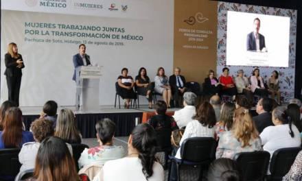 Buscan promover igualdad con foro de «Mujeres trabajando juntas por la trasformación de México»