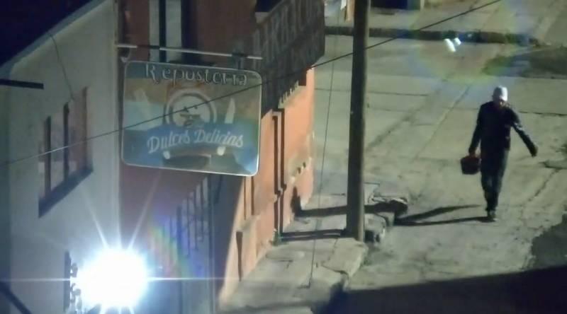 Con videovigilancia del C5i detienen a presunto desvalijador en Apan