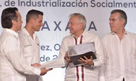 Firman Pacto Oaxaca para detonar economía en región sur-sureste del país