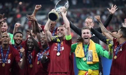 Liverpool campeón de la Super Copa de la UEFA 2019
