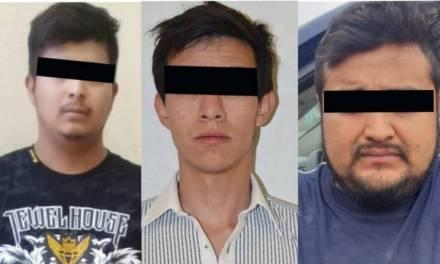 Detiene a 3 hombres relacionados con probables delitos