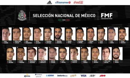 México echa mano de los juveniles en la pre-lista para la Concacaf Nations League