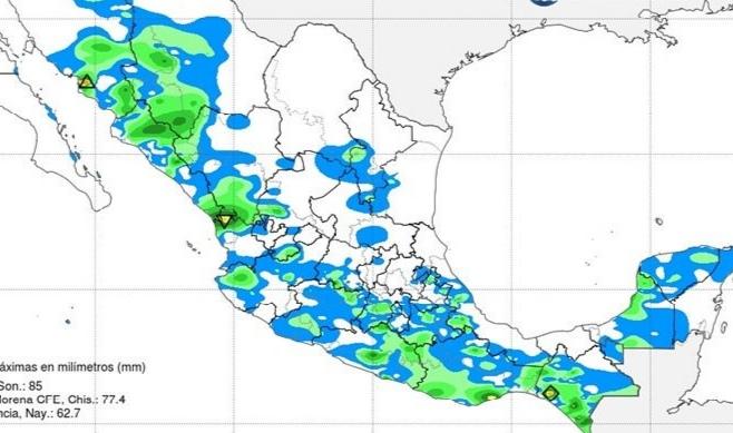 Baja probabilidad de lluvias en el estado