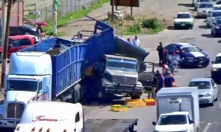 Se registra accidente de tránsito en Matilde
