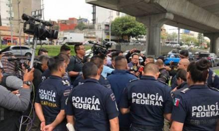 Resurgen manifestaciones de los policías federales