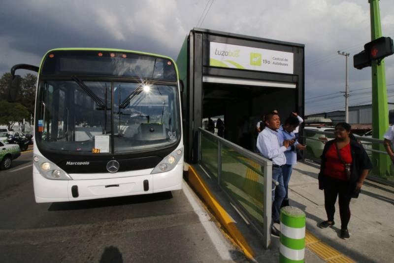 Asignan a la empresa Vanguardia y Cambio la operación temporal de Tuzobús