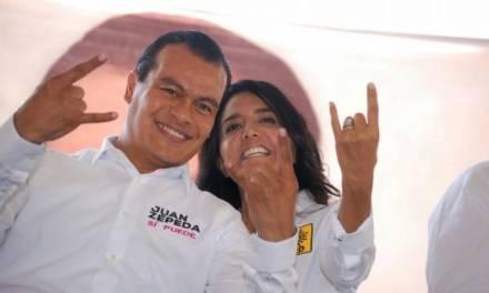 Alejandra Barrales y Juan Zepeda renuncian al PRD